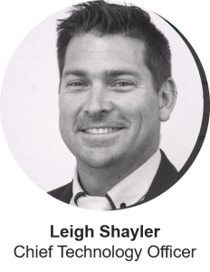 Leigh Shayler, CTO at Satalyst